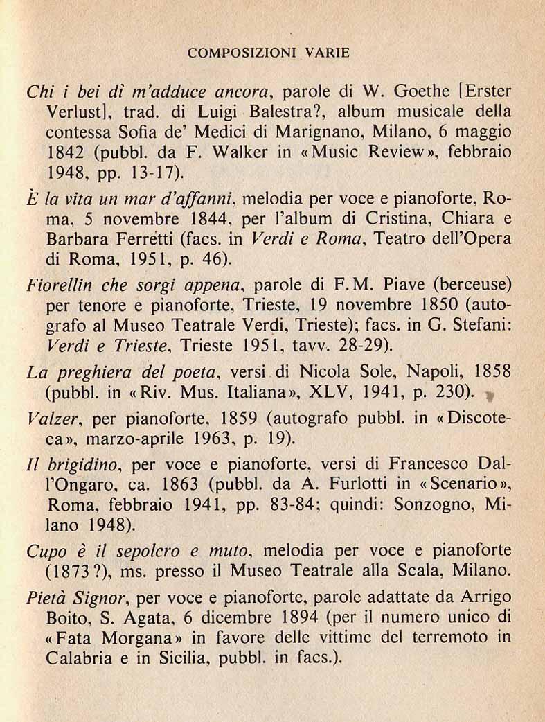 Giuseppe Verdi* Verdi - La Traviata - Acte III