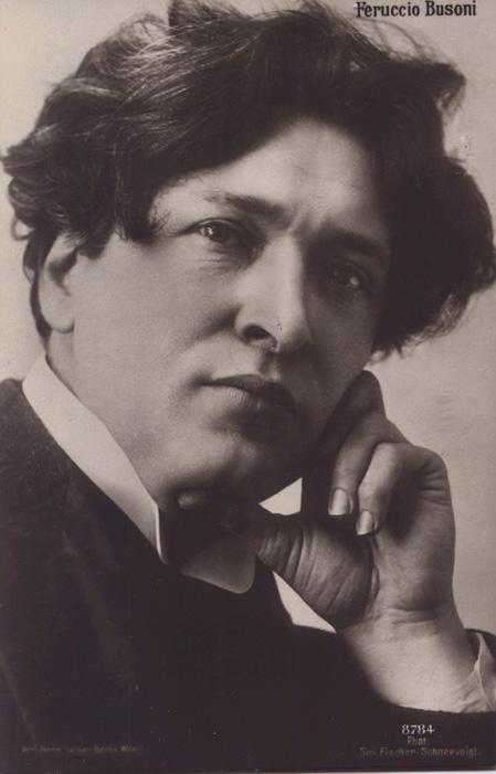 Ferruccio Busoni, dal bel sito di Laureto Rodoni