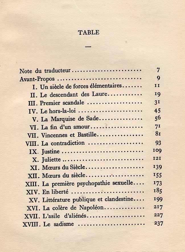 Marquis de Sade Criticism - Essay