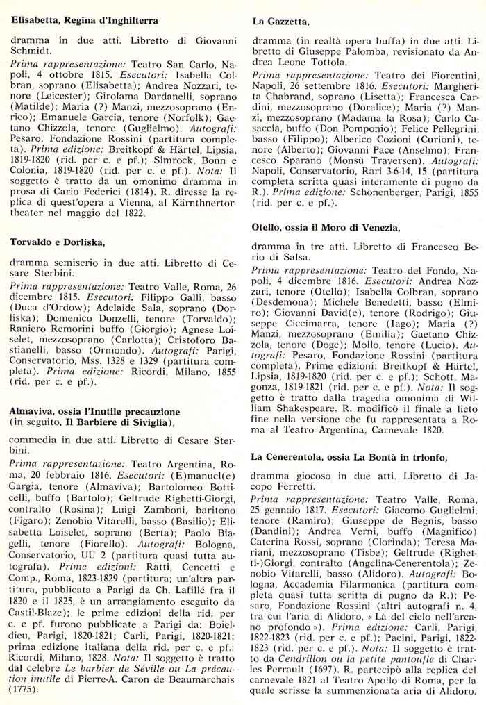 Gioacchino Rossini - Hoogtepunten Uit